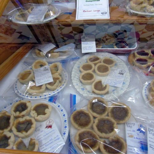 Butter Tarts in Elmvale Fall Fair competitions