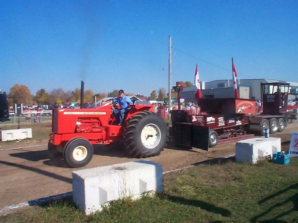 Truck and Tractor Pull at Elmvale Fall Fair