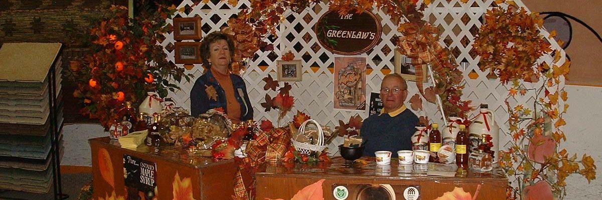 vendors at Elmvale Fall Fair